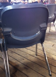 Even the chairs were smiling