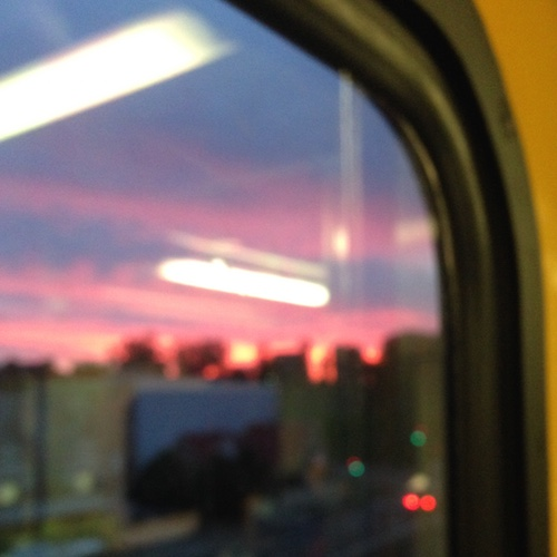 train window